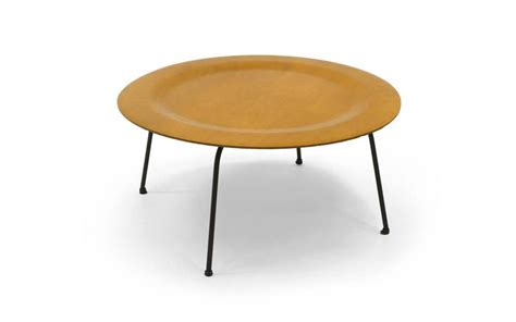 early second generation eames ctm coffee table metal legs