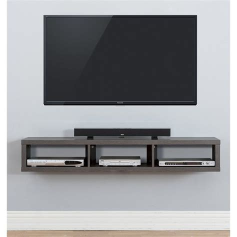 Patio Door Awnings Martin Furniture Shallow 60 Quot Floating Tv Stand In Skyline