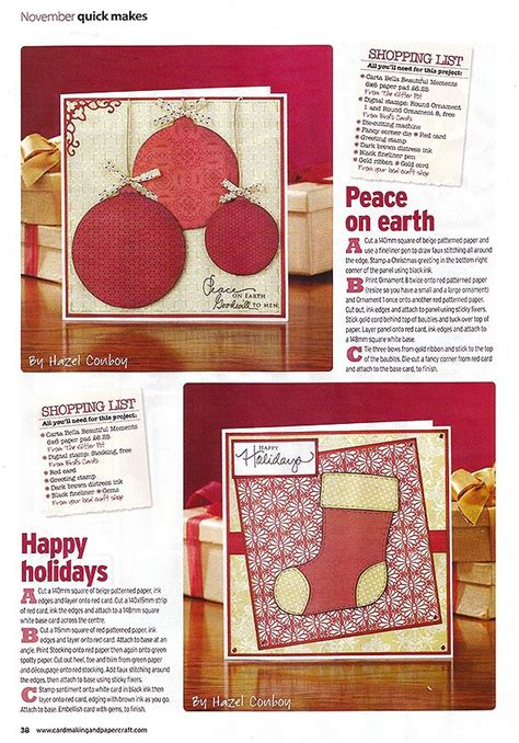 Cardmaking Papercraft - i m in cardmaking papercraft magazine
