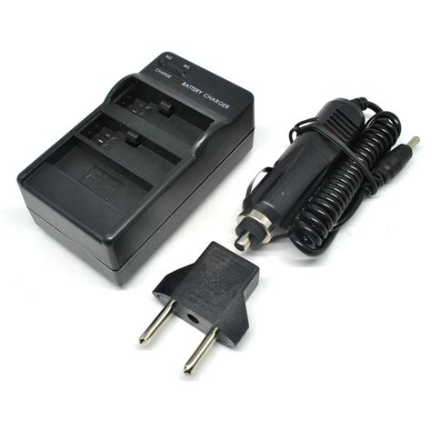 Gopro 4 Black Jakarta dual battery charger with car charger for gopro 4