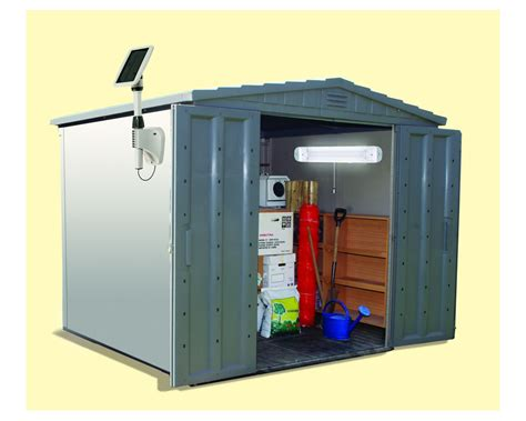 Amazon.com : Gama Sonic Light My Shed III Solar LED Shed