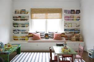 Playroom Bookshelves Built In Bookshelves Transitional S Room