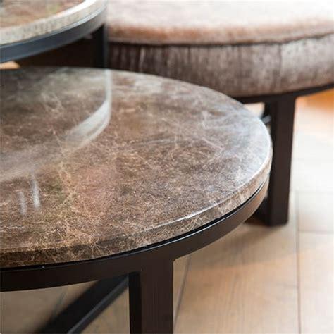 salontafel rond natuursteen lucena tafel marmer 216 80 tafels stoop furniture