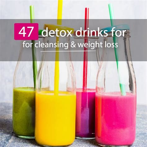 Best Detox Drinks by 47 Detox Drinks Recipes For Cleansing Weight Loss