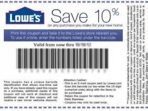 home depot 10 percent lowes coupons printable coupons