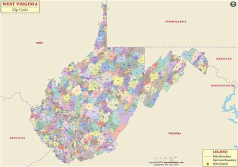 zip code map west virginia va zip code map zip code map
