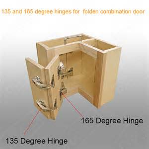 Kitchen Cabinet Doors Hinges corner folded combination kitchen cabinet door hinges overlay ebay