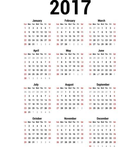 Kalender 2017 Free 2017 Pdf Calendars Free Calendar 2017