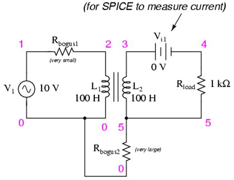 basic operation of inductor inductor coupling ltspice 28 images transformer model miscalculation of current for a