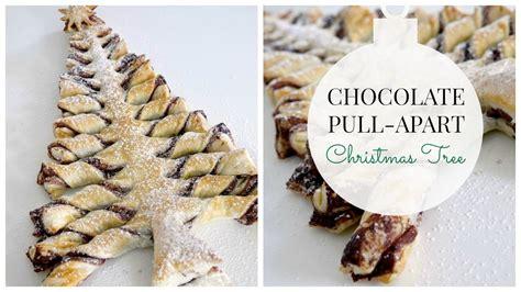 chocolate pull apart christmas tree recipe chocolate pull apart tree recipe