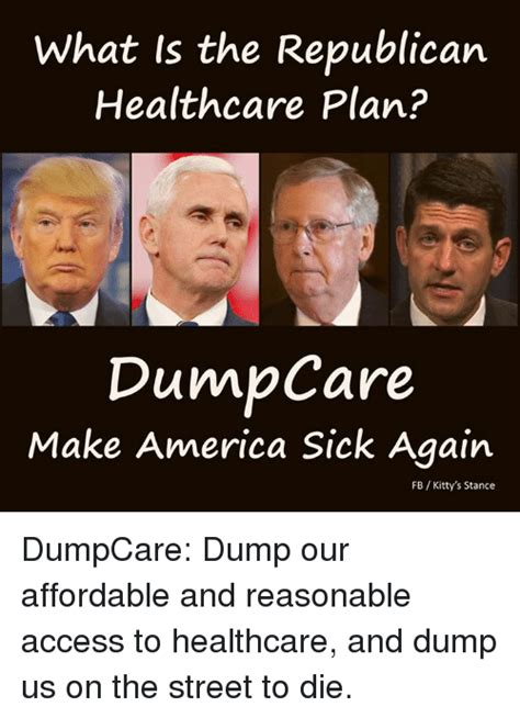 gop healthcare plan what is the republican healthcare plan dunn care make