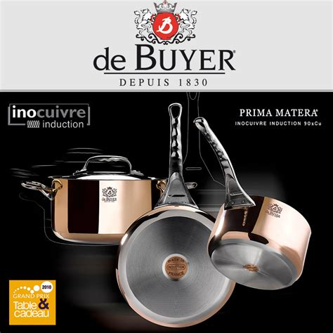 dei buyer de buyer copper cookware set prima matera cookfunky