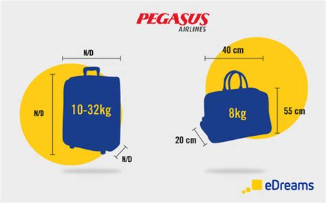 airline cabin luggage pegasus airlines luggage and checked baggage allowances