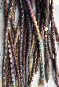 boho hair wraps 10 custom dreads hair wraps bohemian by purplefinchstore