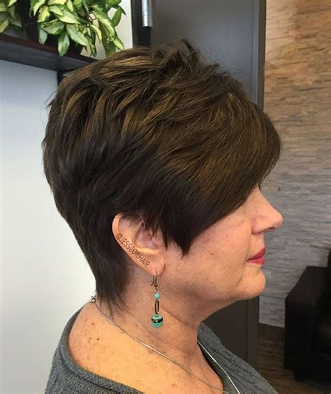 short highlighted hairstyles for women over 50 90 classy and simple short hairstyles for women over 50