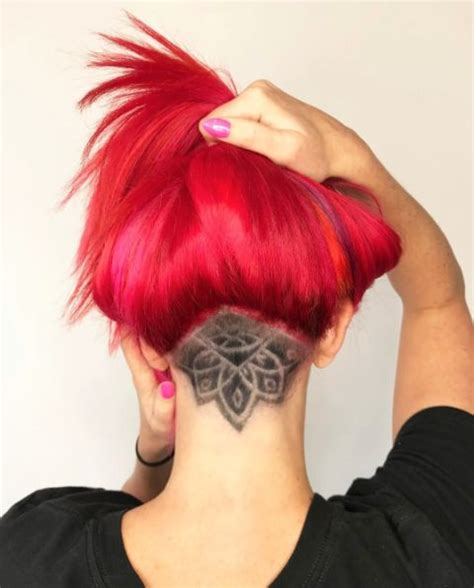 simple nape tattoo 17 best images about undercut on pinterest hair tattoos