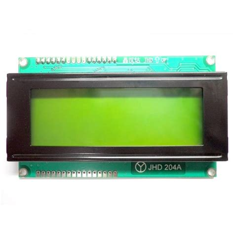 Lcd Display 4x20 lcd display yellow backlight
