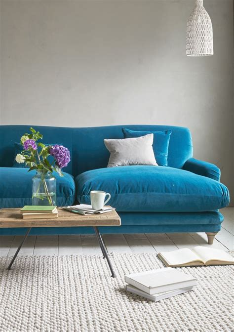 bright blue couch best 25 turquoise sofa ideas on pinterest teal i shaped