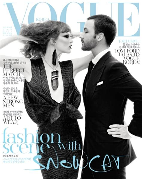 design magazine korea karen elson tom ford by steven meisel for vogue korea