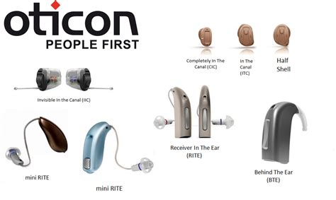 hearing aid types styles of oticon hearing aids there is one for every fit