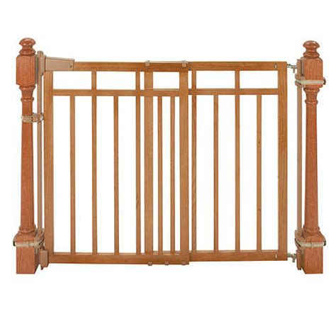 Baby Gate With Banister Kit by Summer Infant Stylish Secure 174 Deluxe Top Of Stairs Gate