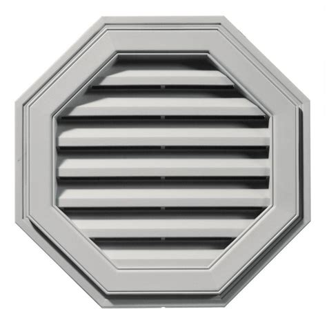 builders edge 22 in octagon gable vent in paintable