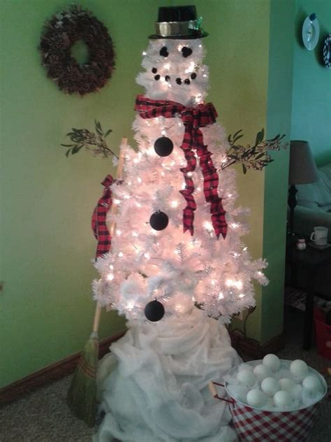 snowman christmas tree favorite things pinterest