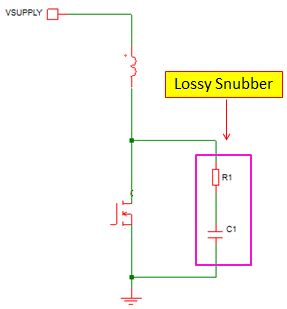 diode rc snubber circuit snubber diode selection 28 images rc snubber calculator spreadsheet snubber resistor power