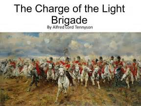 the charge of the light brigade ppt