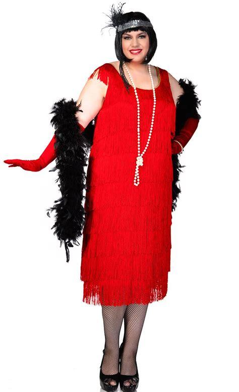 plus size flapper costume 1920s costumes 20s halloween 1920 s plus size flapper costume sexy red women s