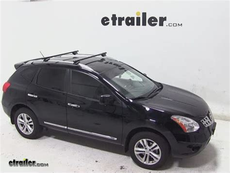 thule roof rack for 2013 nissan rogue etrailer