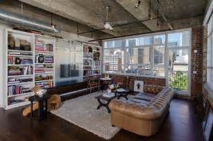 Modern Living Room Loft Houston Loft Industrial Living Room Houston By