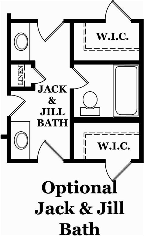 what is a jack and jill bathroom layouts jack and jill bathroom layout bathrooms designs