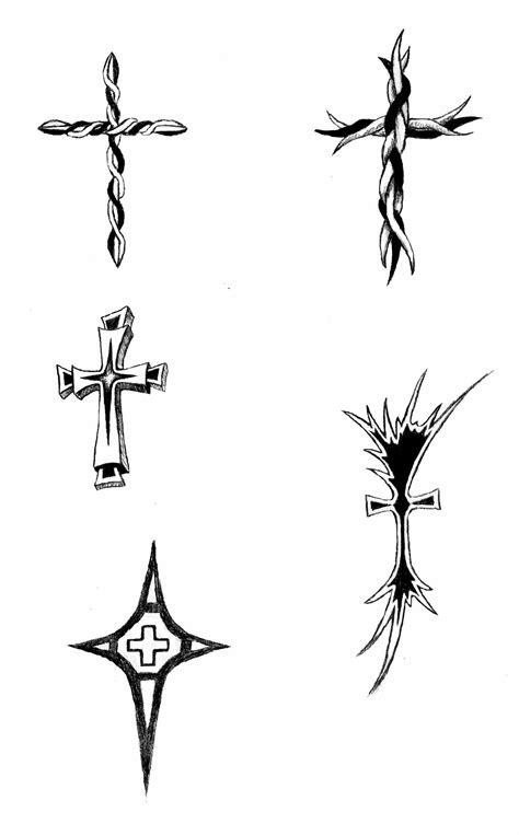 cross tattoos by dabirdboi on deviantart