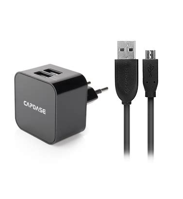 Ahha Kuga Single Usb Charger Original capdase charger dual usb power adapter and cable cube k2