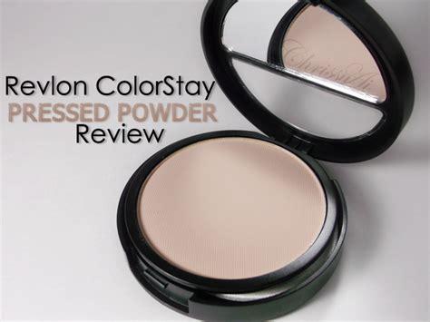 Revlon Colorstay Powder chrissyai revlon colorstay pressed powder