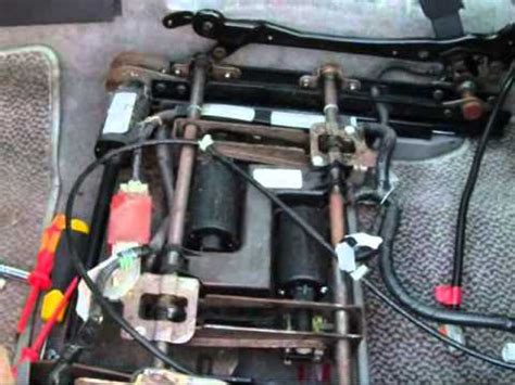 repaired power seat motor on a 2009 land rover lr2 acura drive seat fix youtube