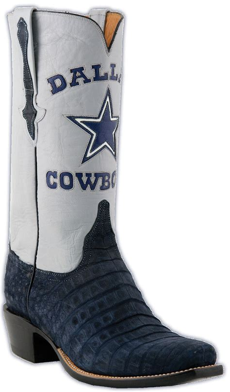 allens famous texas boots authentic hand crafted cowboy men s dallas cowboys 50 sean lee green salute to service