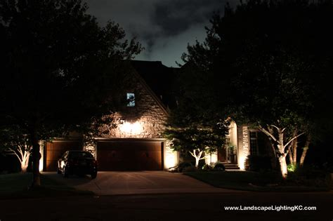 overland park lights landscape lighting system installed in overland park home