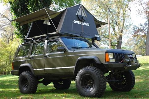 Jeep Xj Roof Top Tent Jeep Builds Roof Top Tents Are One Of The Coolest Parts