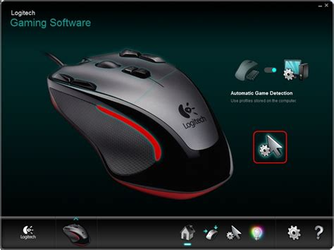 Mouse Gaming Logitech G300 setting dpi levels on the g300 using logitech gaming software
