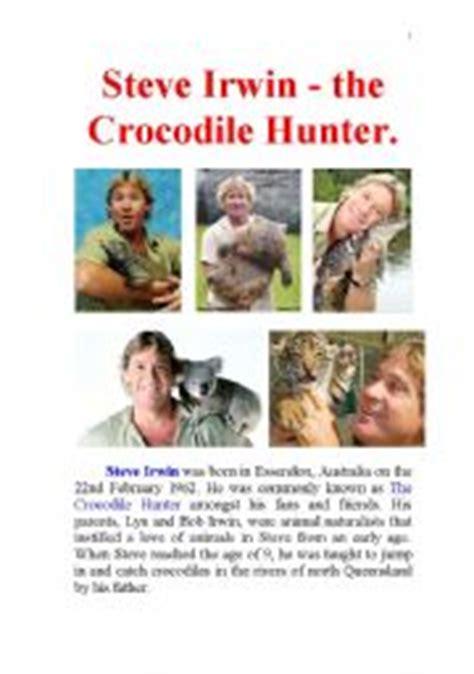biography book on steve irwin steve irwin the crocodile hunter famous biography