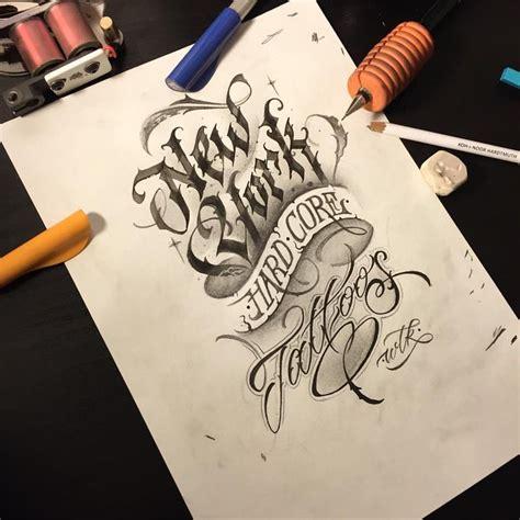 new york tattoo font wlk new york hard core tattoos nyhctattoos wlk