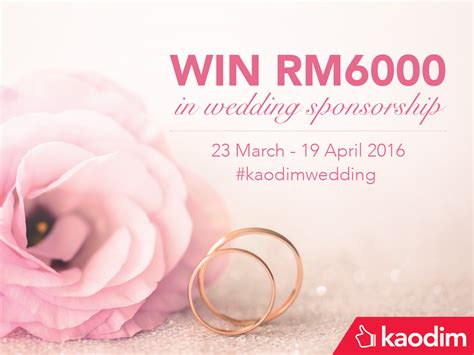 Win Wedding Money 2016 - save money while planning your wedding kaodim