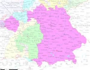 Map Of Southern Germany by Background Info Amp Programs