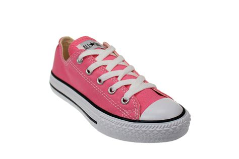 pink sneakers converse all junior classic pink trainers