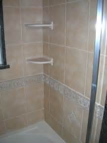 standard height for shower soap dishes and shelves