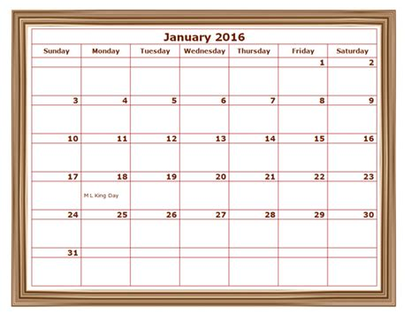 2016 monthly calendar template 2016 monthly calendar template 07 free printable templates