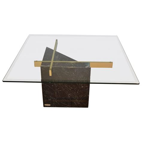 marble glass coffee table black marquina marble base and glass top coffee table by