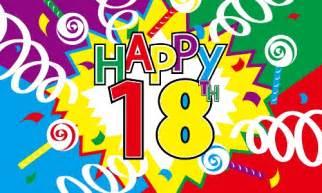 18th birthday flag happy 18th birthday flag 18th